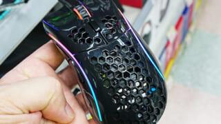 【画像】超軽量化に成功したゲーミングマウスがこちらwwwwwwwwww