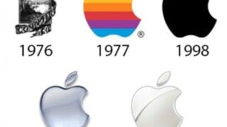 【画像】Appleのロゴ遍歴がこちら どれが一番好き?