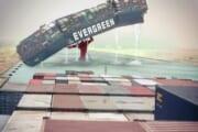 【画像】今話題のスエズ運河コンテナ騒動の光景、あれっぽい