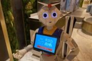 【画像】ペッパー君とかいうクソアホロボットのコスプレwwwwwwwwwww