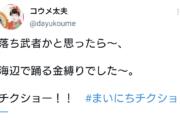 【悲報】コウメ太夫、意味不明