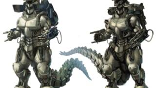 怪物の死体をロボットにする展開ってどうなの